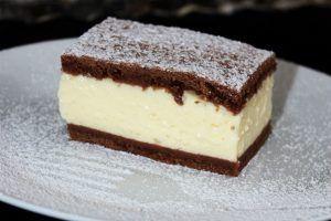 A nyár nagy slágere ez a pudingos tejfölös süti