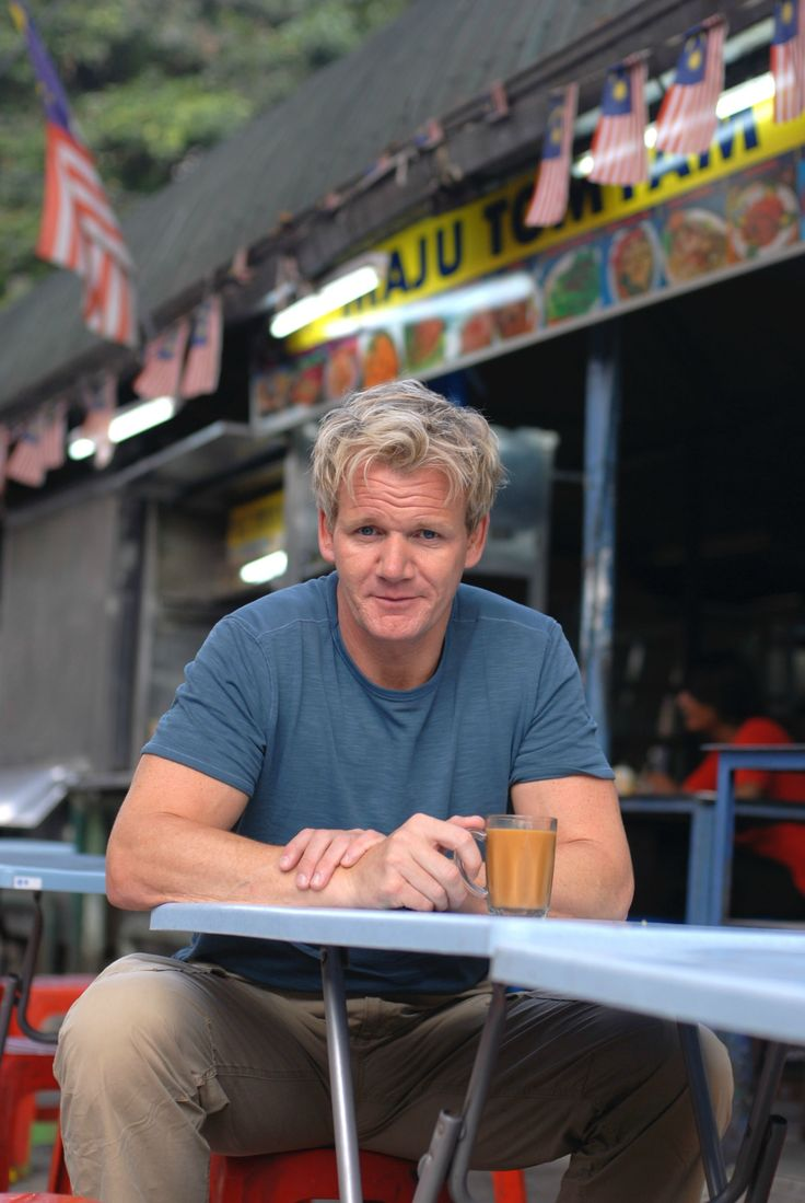 Gordon Ramsay, awks crush alert