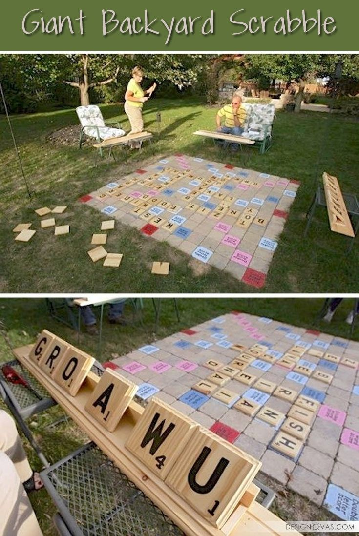 25+ Ideas To Landscape Your Backyard With Games | #backyard #games #outdoor