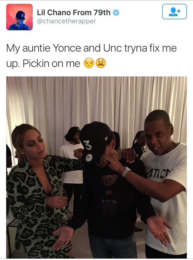 Beyoncé Jay & Chance The Rapper Backstage at Formation World Tour Citi Field Flushing New York 07.06.2016