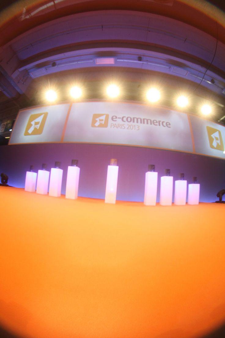 Les E-commerce Awards attendant leurs lauréats !! #ECP13 #Awards
