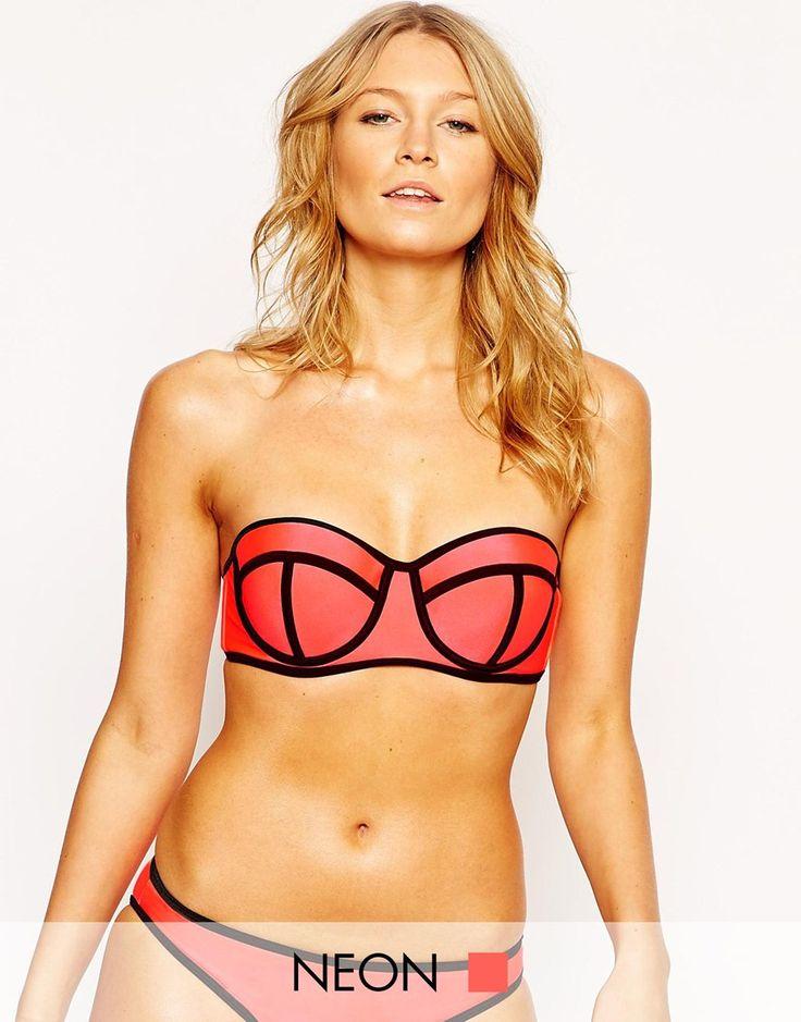 South Beach Mix and Match Bikini in Coral