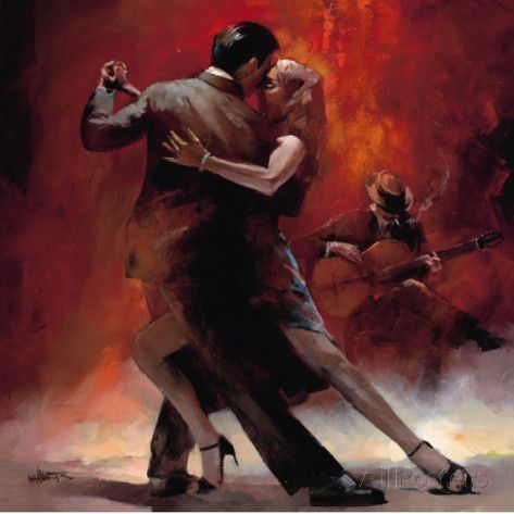 Tango Argentino II Print by Willem Haenraets at AllPosters.com living room