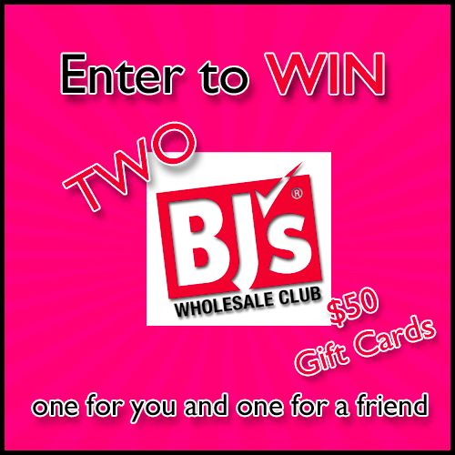 BJs Wholesale Club $50 Gift Card Giveaway