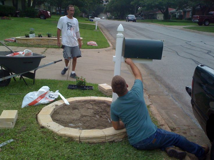 MAILBOX LANDSCAPING | 12 Photos of the Cheap Mailbox Landscaping Ideas