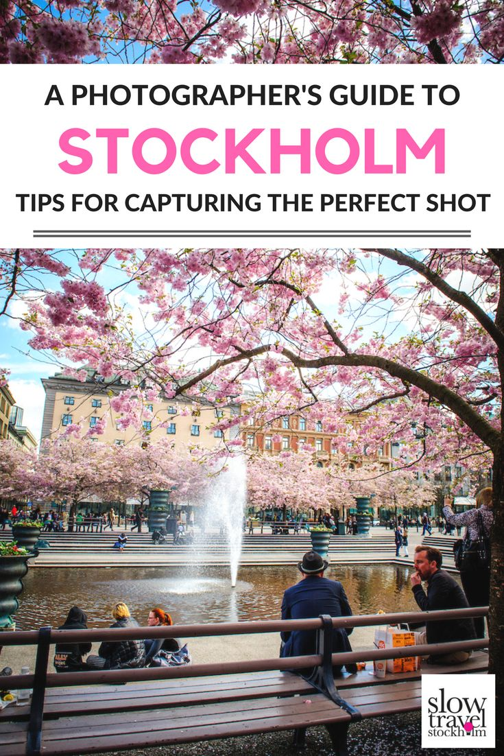 Practical photography tips for exploring Stockholm behind the lens of a camera. Where to find the best views in this photogenic Swedish city.   Slow Travel Stockholm Blog
