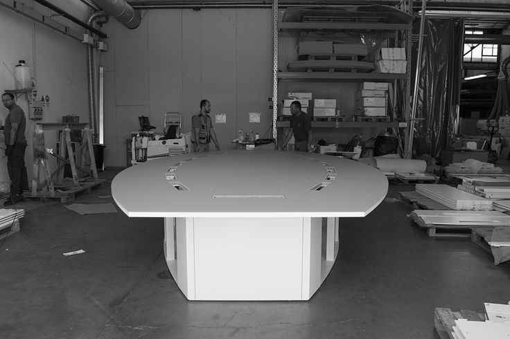 Our production / working at bespoke conference tables / Prof Office