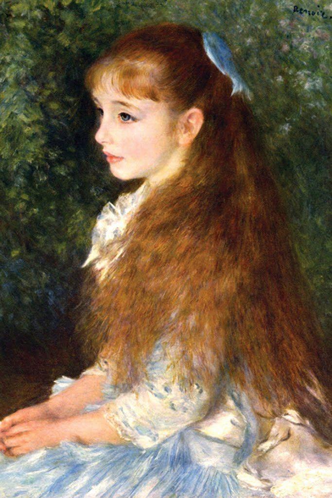 Irene Cahen d'Anvers, by Pierre-Auguste Renoir