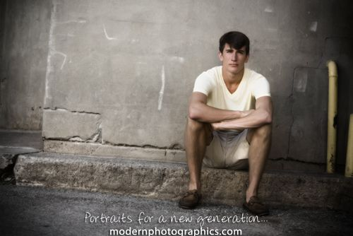 Traditional Guy  Senior Portraits Grand Rapids