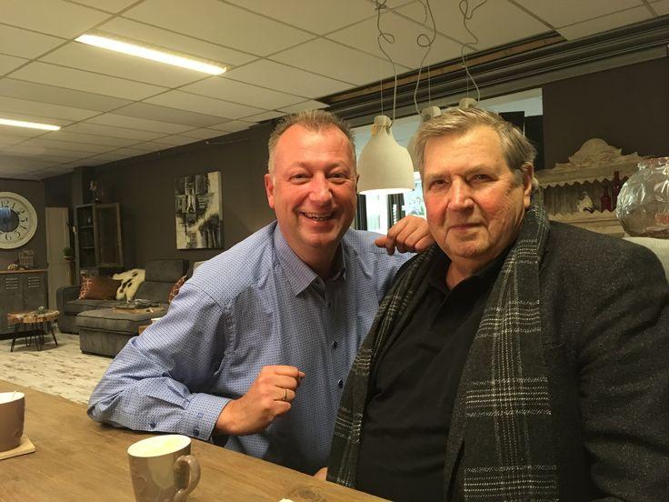 With Dhr. Wim Geels.  Geels Meubelen- IJmuiden Holland