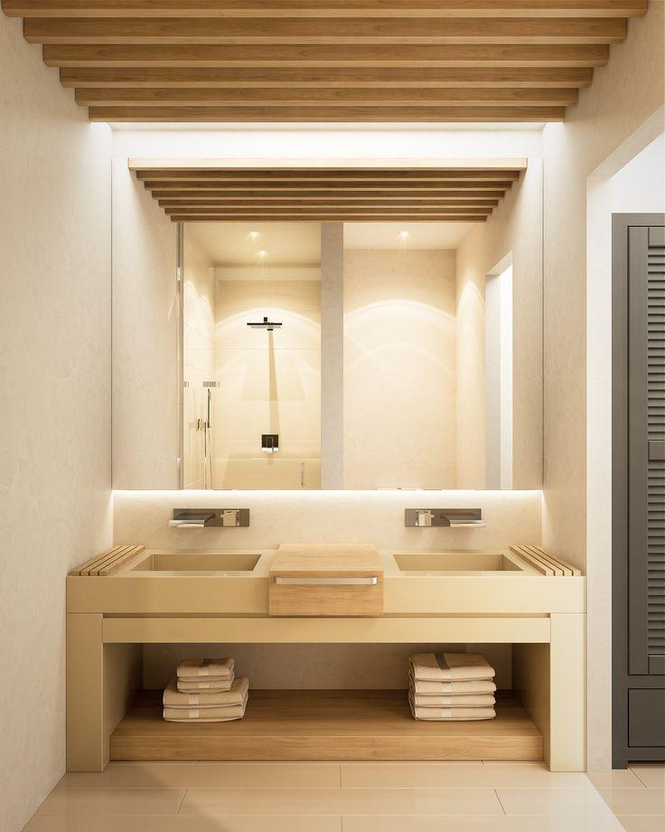 hot trend in japandi interior design  bathroom vanity