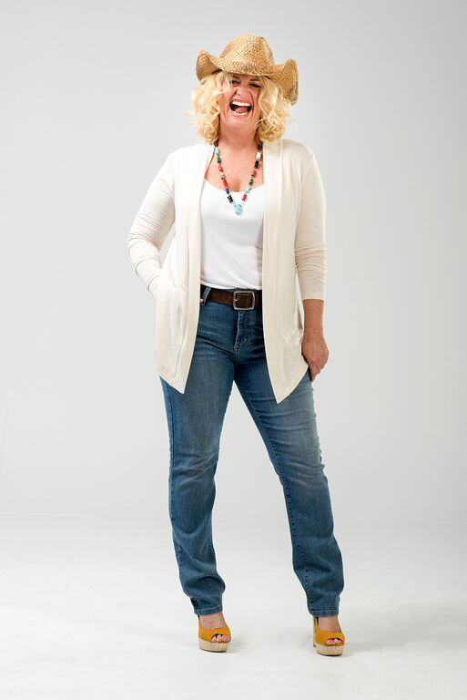 """Charlie a Go-Go's fabulous """"Lola"""" cardigan in French Vanilla.  Available in plus sizes 12-18. Made in USA http://www.amazon.com/dp/B00UGOM11Q/ref=cm_sw_r_pi_dp_7prFvb0WSNHZD"""
