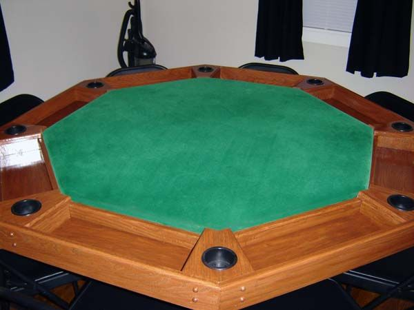Octagon Poker Table Woodworking Plans - WoodWorking ...