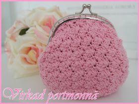 Mönster rosa portmonnä     Sedan så kommer Svarta Fåret att börja sälja knäppen och jag kommer att ta in dessa i mitt sortiment i webbshope...