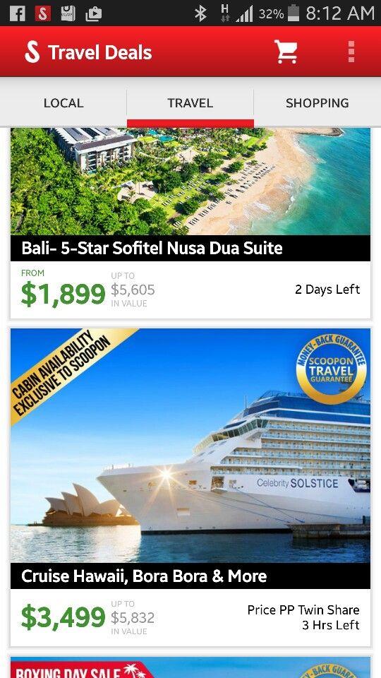 Cruise Hawaii and Tahiti