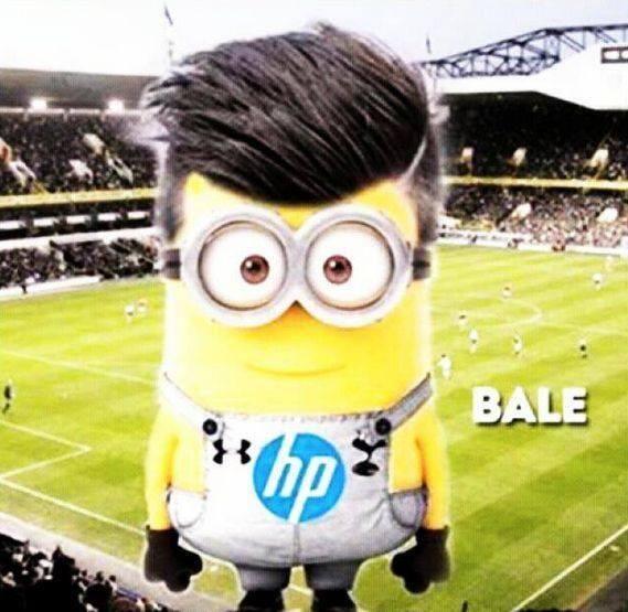 Gareth Bale/shave part/despicable me;)