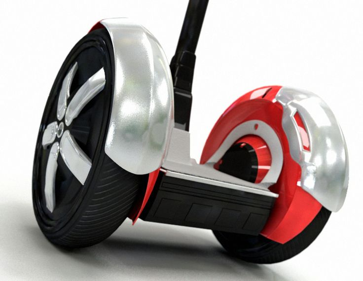 Segway Seg Way 3D Max - 3D Model