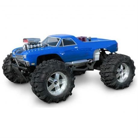 Buy your HPI Savage E T-Maxx El Camino SS Clear 1/8 Monster Truck Body (HPI7177) at RC Planet and save on all our HPI Racing parts and accessories.