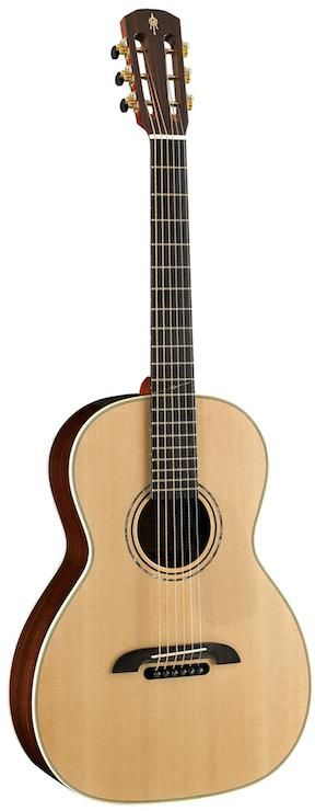 Alvarez Yairi PYM70. The PYM70 is part of the premium Alvarez Yairi Masterworks line, a handcrafted traditional style parlor guitar with all-solid wood construction and premium cosmetics.  For a guide to the Best Parlor Guitars see https://parlor.guitars/blog/roundup-best-parlor-guitars
