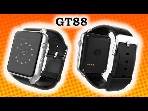 Unboxing luxusní hodinky GT88 jako telefon jen za 1 000 Kč - YouTube