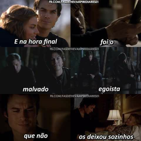 Tvd selfless damon love