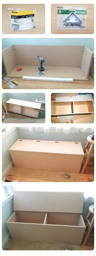Yes! For foot of the bed and upholstered x DIY storage Bench