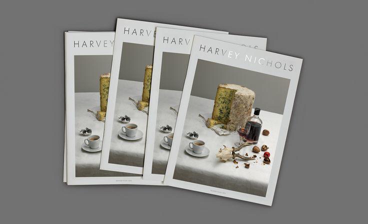 Winter Food Magazine / Harvey Nichols / Hales Curtis