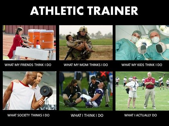 Athletic Training: the job nobody's ever heard of-story of my life!