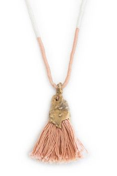 CAVE COLLECTIVE, Bell Tassel II Necklace