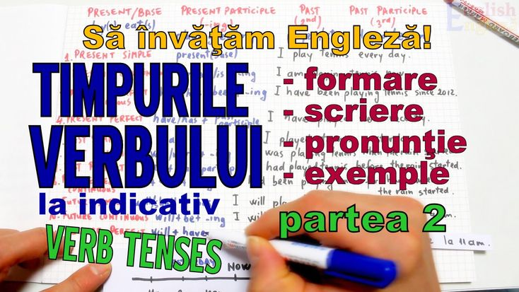 Sa invatam engleza - TIMPURILE VERBULUI (part 2 - TRECUTUL) - Let's Lear...