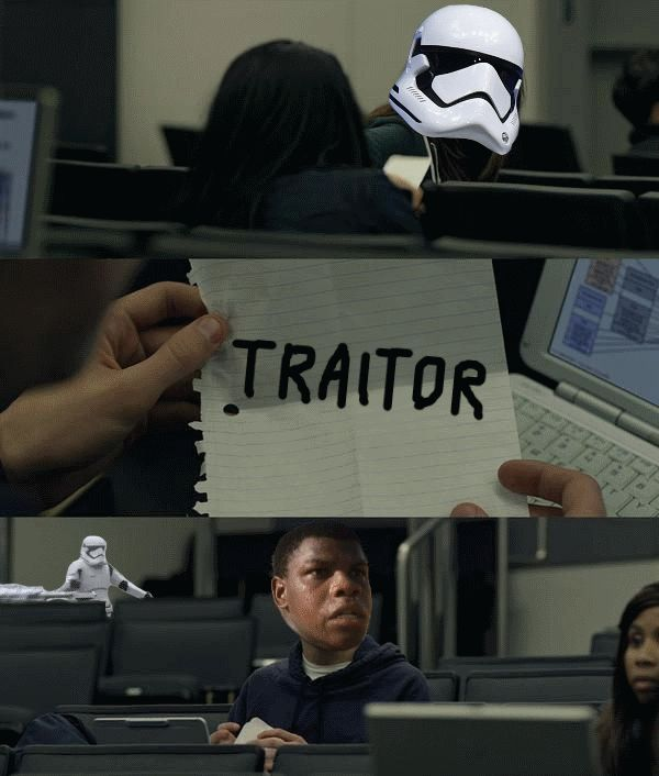 A Star Wars The Force Awakens Stormtrooper Became A Meme And