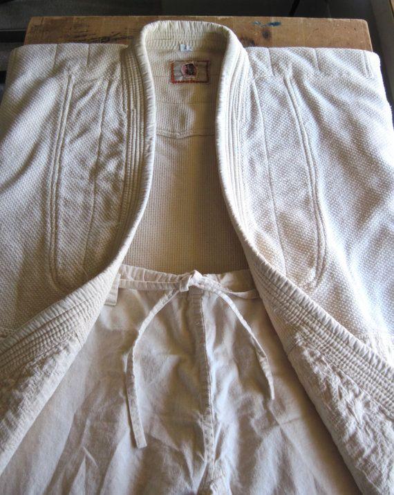 Vintage Japanese Kodokan Judo Gi Uniform by RushCreekVintage