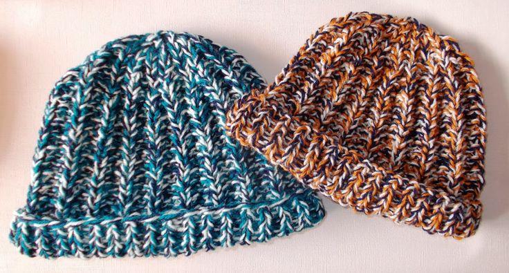 marianna's lazy daisy days: Warm Tweedy Adult Hats