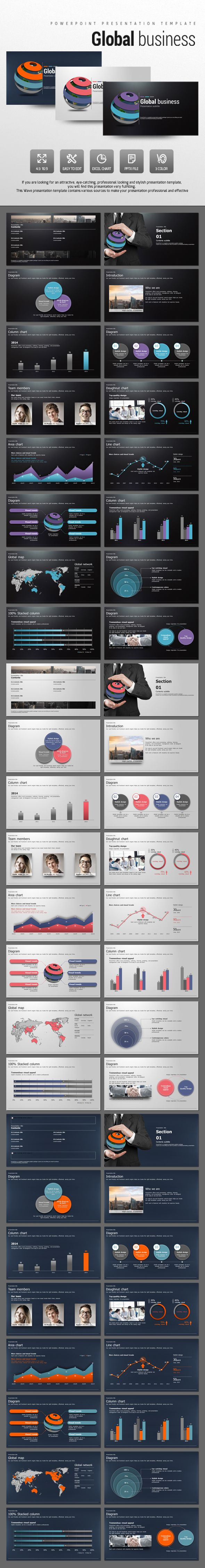 Global Business (PowerPoint Templates)
