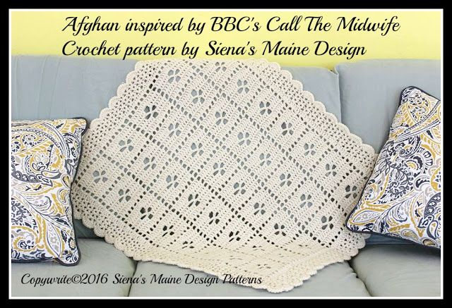 Free written pattern for Call the Midwife Afghan from Jonna Martinez