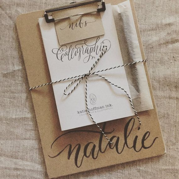 Calligraphy Set for Beginners by KatieHoffmanInk on Etsy