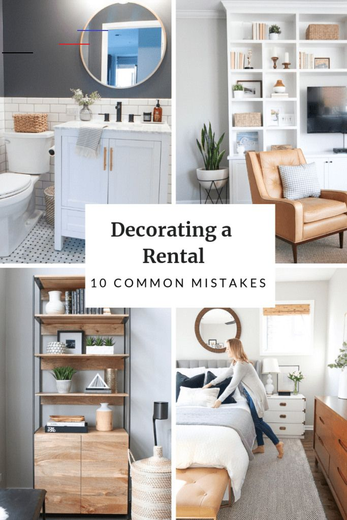 Rental Decorating Mistakes To Avoid The Diy Playbook Decorsalonmaison Do You Rent An Apartment Here Are Rental Decorating Mistakes To Avoid So You Can D In 2020