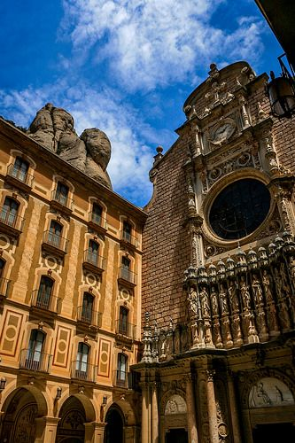 28 best images about our lady of montserrat on pinterest statue of barcelona and church of - Forlady barcelona ...