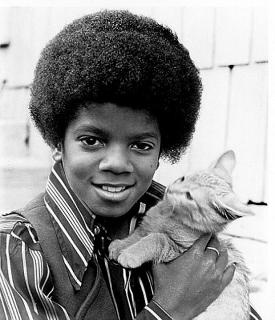 Michael Jackson and friend
