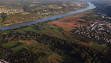 "The Golden Mile is the fertile plain lying between Bad Breisig and Remagen to the left of the Rhine River.  ""Golden"" refers to the fertility of the region."