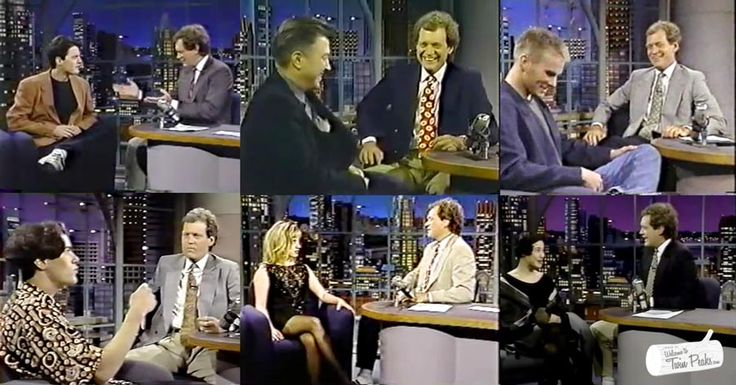 David Letterman's Twin Peaks Interviews: Kyle MacLachlan, Dana Ashbrook, Kimmy Robertson, James Marshall And David Lynch