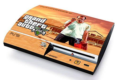 GTA V GRAND THEF AUTO 5 TREVOR Skin Cover PS3 FAT HD limited edition DECAL COVER ADESIVA STICKER Playstation 3