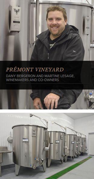 Proud customer of La Garde, the Prémont #Vineyard is located at Ste-Angèle-de-Prémont, in the beautiful region of Mauricie. #WineMaking #WineTank #WineIndustry http://www.lagardeinox.com/en/realisations