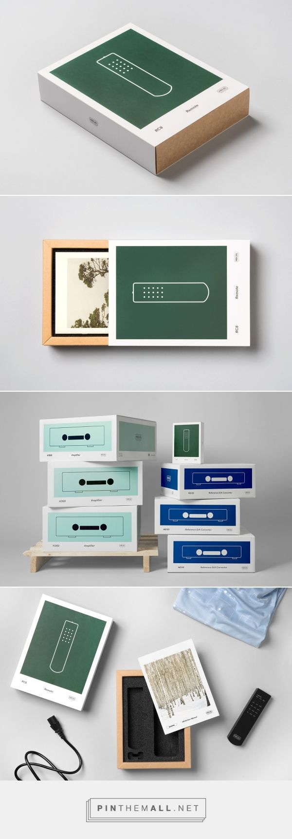 New Packaging for Hegel Music Systems by Neue — BP&O - created via https://pinthemall.net