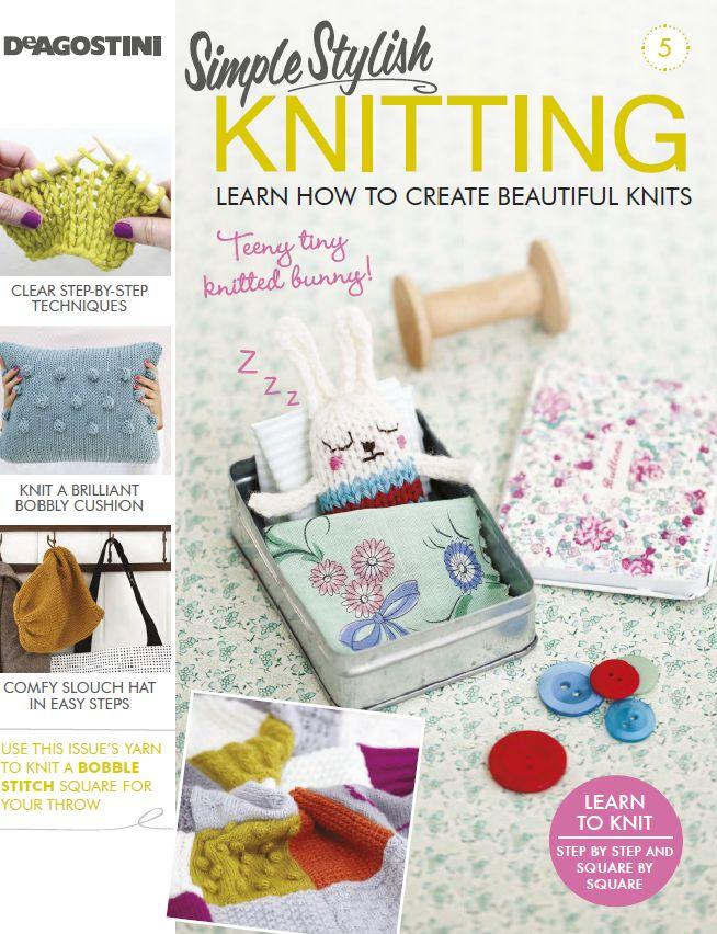 2019 year style- Stylish simple knitting magazine