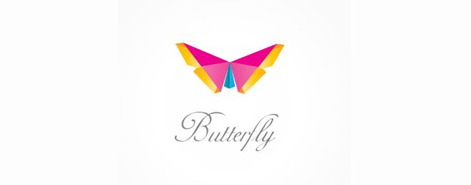 30 Creative #Butterfly #Logo #Design examples for Inspiration