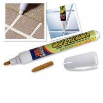 Whitening Grout e marcador da telha