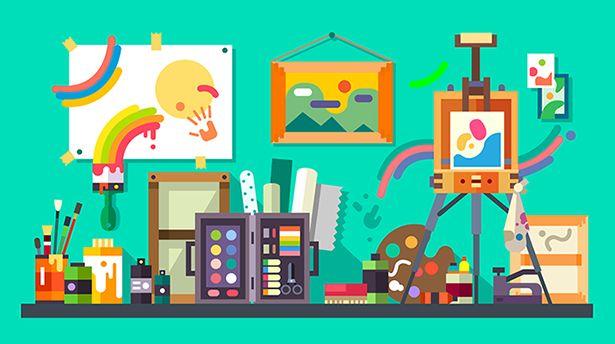 20 отличных сайтов для обучения рисованию