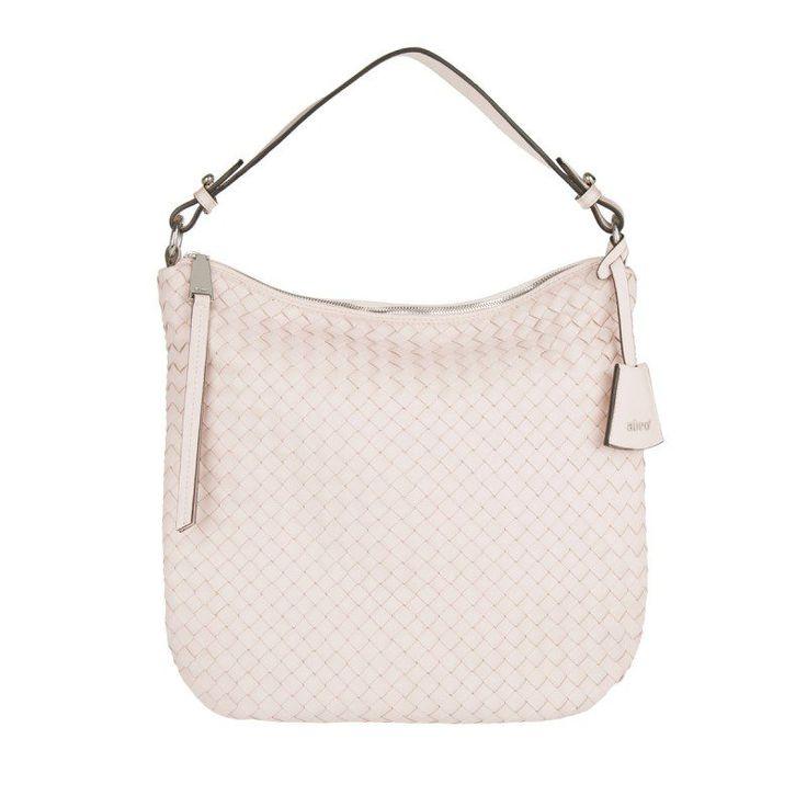 Abro Abro Tasche – Piuma Braided Leather Hobo Bag Rosa – in rosa – Umhängetasche für Damen