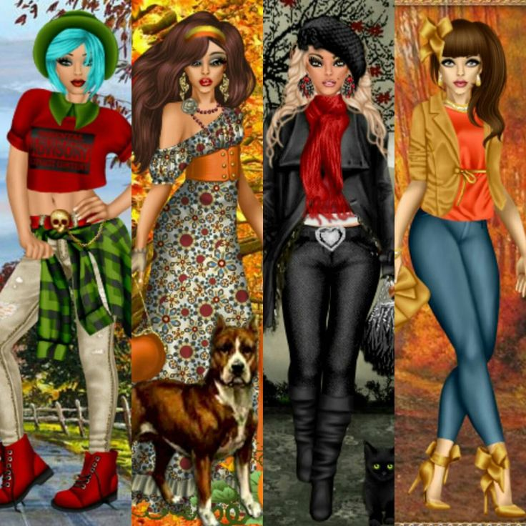 The first day of #autumn has brought out many different looks! From the #classic #fall #outfits to the #edgy #looks. This #season is full of #unique and #beautiful #dolls. Come join the fun at www.divachix.com! #divachix #dressup #dressupgames #design #fashion #fashionista #fashionillustration #fashiondesign #ootd #outfitoftheday #bestoftheday #picoftheday #photooftheday #style #pretty #girlgames #love #amazing #stylish #lookoftheday